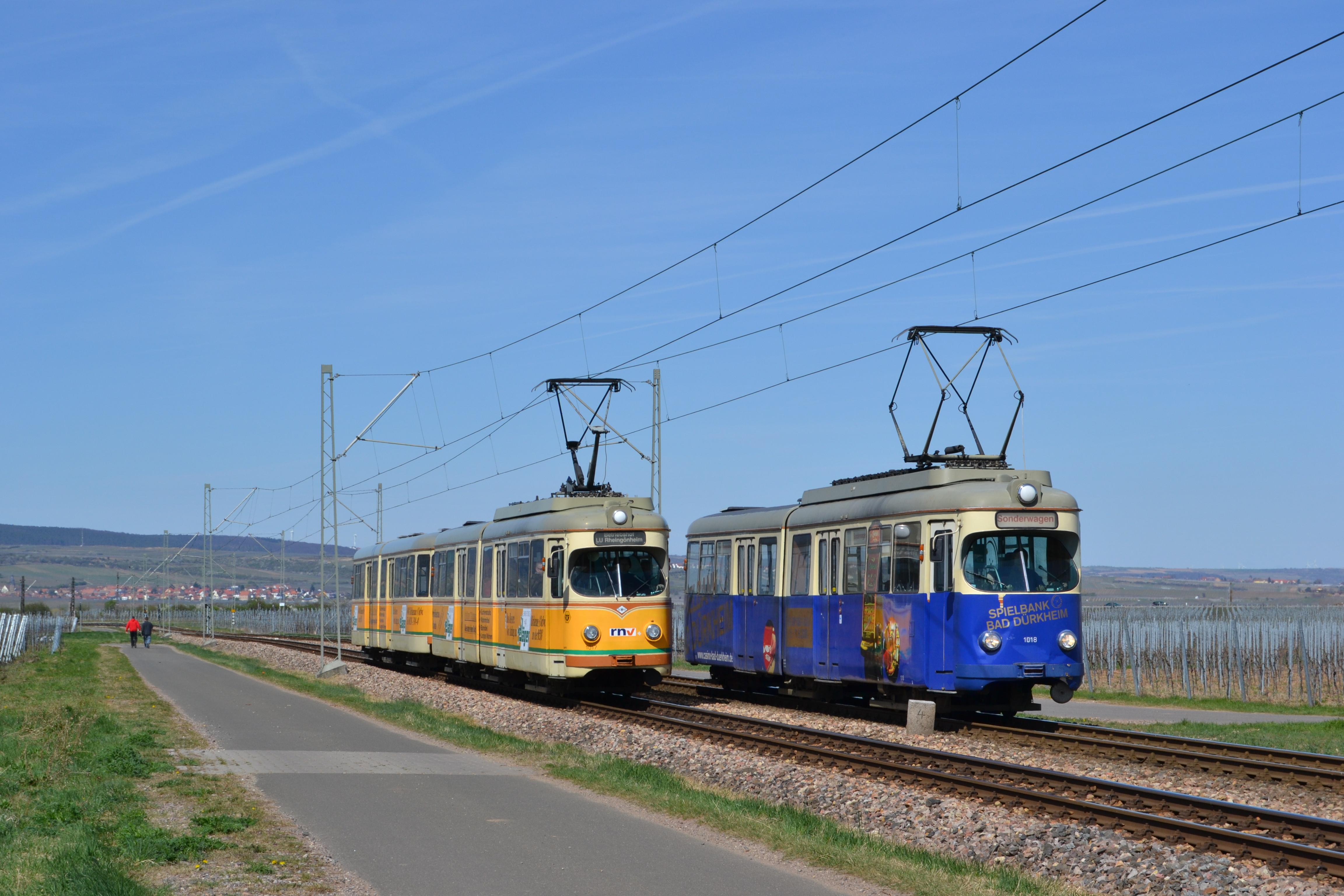 1017/1057 + 1018 Parallelfahrt